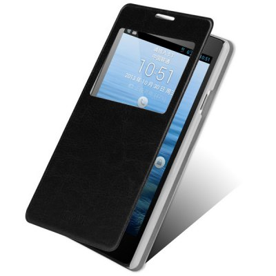 Mofi PC and PU Material Cover Case for Huawei Ascend G700