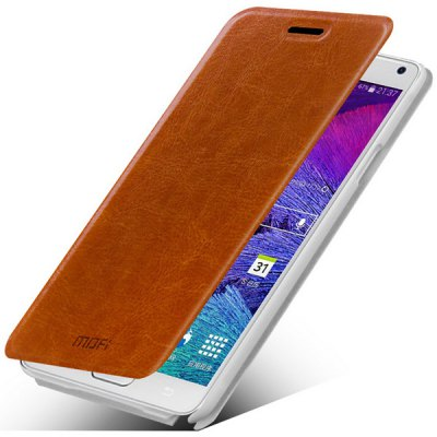 Mofi PC and PU Material Cover Case for Samsung Galaxy Note 4 N9100