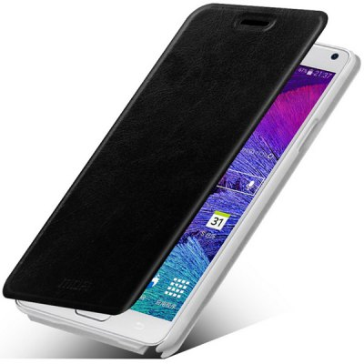 Фотография Mofi Stand Design PC and PU Material Cover Case for Samsung Galaxy Note 4 N9100