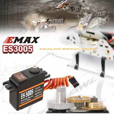EMAX ES3005 Water Resistance General Metal Gear Analog Servo with Bearing RC Model Spares