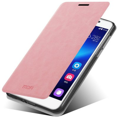 Гаджет   Mofi Stand Design PC and PU Material Cover Case for Huawei Honor 6 Other Cases/Covers