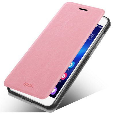 Mofi Stand Design PC and PU Material Cover Case for Huawei Honor 4X