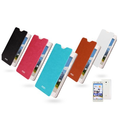 Фотография Mofi Stand Design PC and PU Material Cover Case for Huawei Honor 3