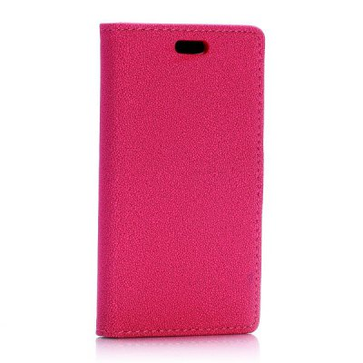 Фотография Gravel Pattern Phone Cover PU Case Skin with Stand Function for Samsung Galaxy Star 2 Plus SM - G350E