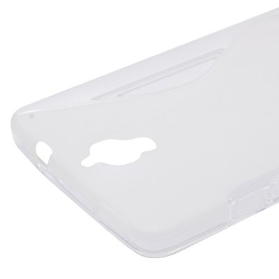 Фотография Anti - dust S Shape TPU Back Cover Case for Alcatel One Touch Idol X 6040 6040A 6040D 6040E