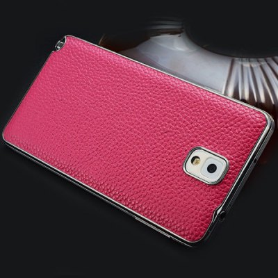 ФОТО Moby Cute Genuine Leather Protective Back Case with Lichee Pattern for Samsung Galaxy Note 3