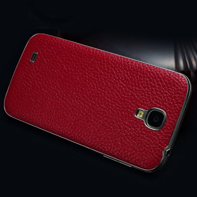 Гаджет   Moby Lichee Pattern Genuine Leather Back Cover Protector for Samsung Galaxy S4 Samsung Cases/Covers