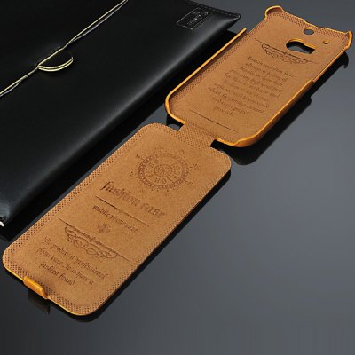 Гаджет   PU Oil Wax Vertical Flip Full Body Case for HTC One 2 M8 Other Cases/Covers