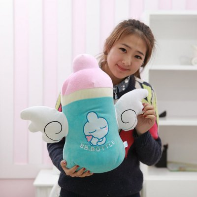 Гаджет   Cute 35cm BB - bottle Plush Doll with Wing Stuffed Toy Pillow Cartoon Figure Model Kids Gift Dolls & Action Figures