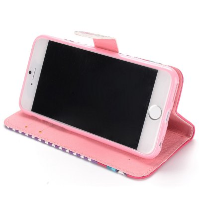 Фотография Heart Desing Full Body Case with Credit Card Holder Stand for iPhone 6  -  4.7 inches