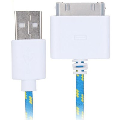 100cm Woven Design 30pin Data Sync / Charging Cable