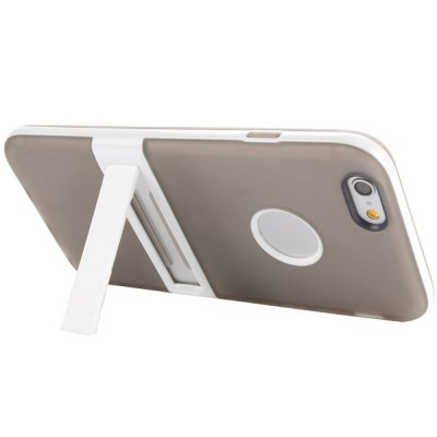 Фотография Logo Cutout Design Back Cover Case with Stand for iPhone 6  -  4.7 inches