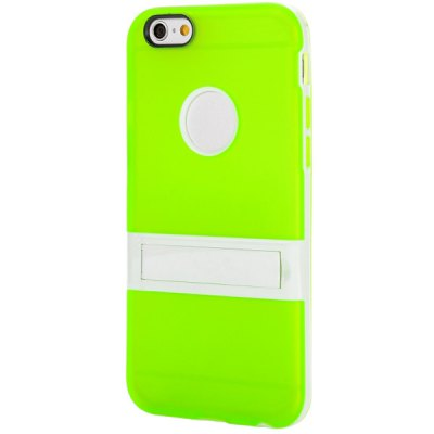 Logo Cutout Design Back Cover Case with Stand for iPhone 6  -  4.7 inchesiPhone Cases/Covers<br>Logo Cutout Design Back Cover Case with Stand for iPhone 6  -  4.7 inches<br><br>Compatible for Apple: iPhone 6<br>Features: Back Cover, Cases with Stand<br>Material: TPU<br>Style: Novelty<br>Color: Brown, Pink, Orange, Red, Yellow, Blue, Gray, Green, Purple, Black<br>Product weight : 0.026 kg<br>Package weight : 0.08 kg<br>Product size (L x W x H): 13 x 6.5 x 1 cm / 5.11 x 2.55 x 0.39 inches<br>Package size (L x W x H) : 13 x 6.5 x 1 cm / 5.11 x 2.55 x 0.39 inches<br>Package contents: 1 x Back Cover Case