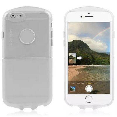 ФОТО Transparent TPU Material Back Case Cover for iPhone 6 Plus  -  5.5 inches