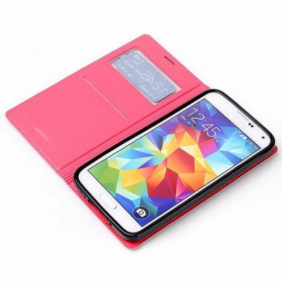 Фотография ViLi Practical PU and PC Material Cover Case for Samsung Galaxy S5 i9600 SM - G900