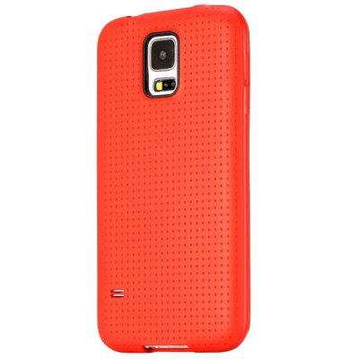 Фотография Mesh Design TPU Protective Back Cover Case for Samsung Galaxy S5 I9600