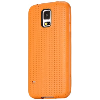 Mesh Design TPU Protective Back Cover Case for Samsung Galaxy S5 I9600