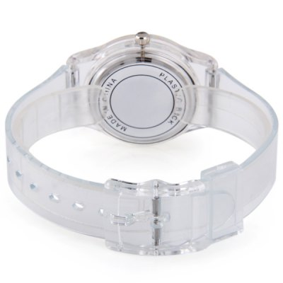 A910 Quartz Watch Tiger Pattern Round Dial Plastic Strap Lady WristwatchWomens Watches<br>A910 Quartz Watch Tiger Pattern Round Dial Plastic Strap Lady Wristwatch<br><br>Watches categories: Female table<br>Available color: Transparent color<br>Style : Fashion&amp;Casual<br>Movement type: Quartz watch<br>Shape of the dial: Round<br>Case material: Plastic<br>Case color: Transparent color<br>Band material: Plastic<br>Clasp type: Pin buckle<br>Band color: Transparent color<br>The dial thickness: 1.0 cm / 0.39 inches<br>The dial diameter: 3.2 cm / 1.30 inches<br>The band width: 1.6 cm / 0.63 inches<br>Product weight: 0.017 kg<br>Package weight: 0.067 kg<br>Product size (L x W x H) : 23 x 3.3 x 1 cm / 9.04 x 1.30 x 0.39 inches<br>Package size (L x W x H): 24 x 4.3 x 2 cm / 9.43 x 1.69 x 0.79 inches<br>Package contents: 1 x Watch