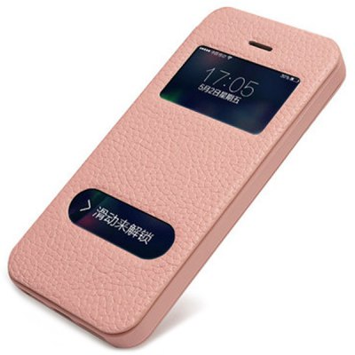 Гаджет   Slim Moby Anti - dust TPU + Leather Stand Function Full Body Case for iPhone 5 / 5S iPhone Cases/Covers