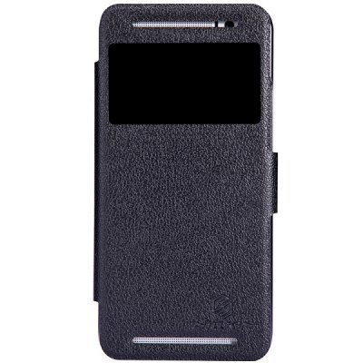 Гаджет   Nillkin Fresh Series S View Window Pattern Flip PU Leather Case for HTC One E8 Other Cases/Covers