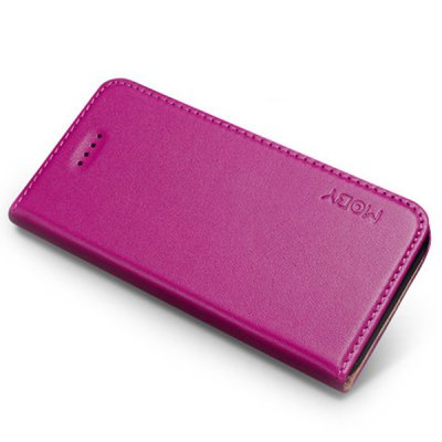 Moby Anti - dust Plastic + Leather Full Body Case for iPhone 5 / 5S