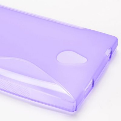Фотография S Shape Desing TPU Material Back Cover Case for Nokia X2 1013
