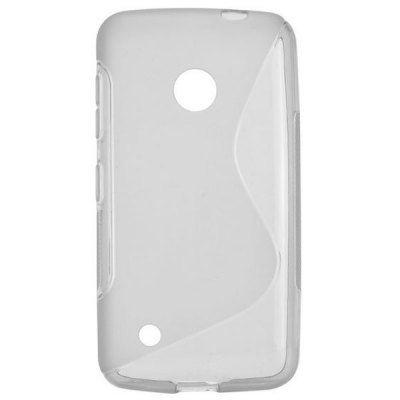 Гаджет   S Shape Desing TPU Material Back Cover Case for Nokia 530 Other Cases/Covers