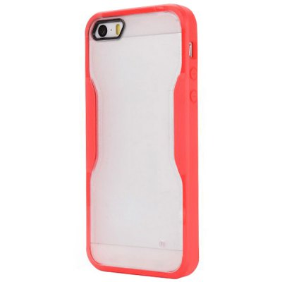 ФОТО PC TPU Material Back Cover Case for iPhone 5 / 5S
