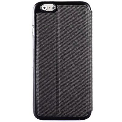 Cowboy Cloth Texture Full Body Case with Stand PU Leather Material fo iPhone 6  -  4.7 inches