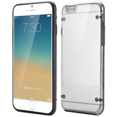 Ultra-thin Transparent Back Cover Case