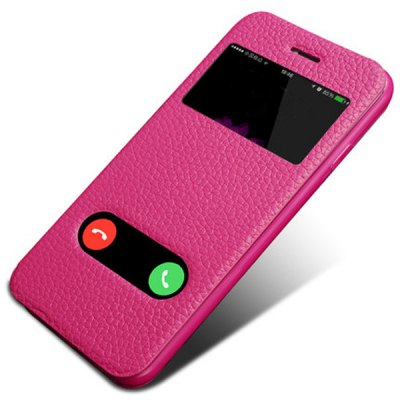 Фотография Moby Anti - dust TPU + Leather Stand Function Full Body Case for iPhone 6 Plus  -  5.5 inch