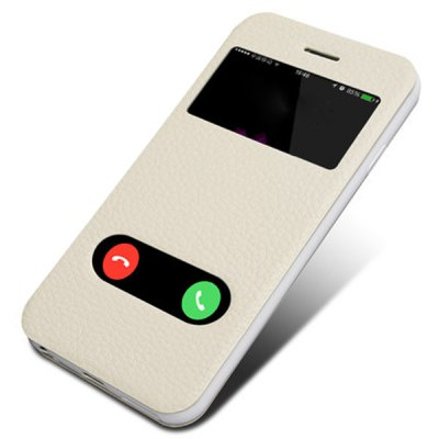 Moby Anti - dust TPU + Leather Stand Function Full Body Case for iPhone 6 Plus  -  5.5 inch