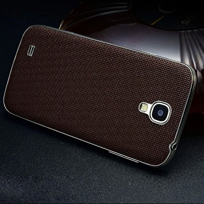 Moby Grid Pattern Genuine Leather Back Cover Protector for Samsung Galaxy S4 i9500Samsung Cases/Covers<br>Moby Grid Pattern Genuine Leather Back Cover Protector for Samsung Galaxy S4 i9500<br><br>Compatible for Sumsung: Samsung Galaxy S4 I9500/I9505<br>Compatible models: Samsung Galaxy S4 i9500 / i9508<br>Features: Back Cover<br>Material: Alloy, Genuine Leather<br>Style: Solid Color<br>Color: Black, Red, Blue, Rose, Coffee<br>Product weight: 0.040 kg<br>Package weight: 0.080 kg<br>Product size (L x W x H) : 13.8 x 7.2 x 1.0 cm / 5.42 x 2.83 x 0.39 inches<br>Package size (L x W x H): 22.0 x 11.0 x 2.0 cm / 8.65 x 4.32 x 0.79 inches<br>Package Contents: 1 x Moby Grid Pattern Genuine Leather Back Cover