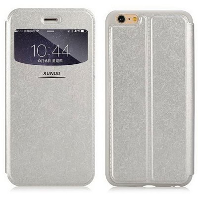 Гаджет   XUNDD Stylish PU Leather and TPU Material Cover Case for iPhone 6  -  4.7 inches