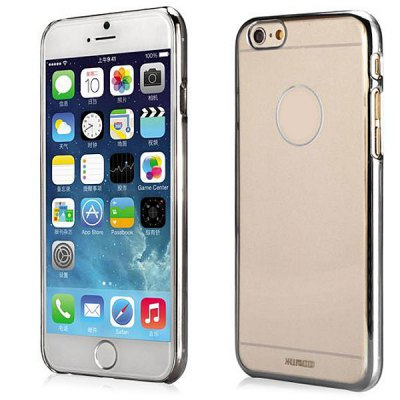 XUNDD Transparent PC Material Back Case for iPhone 6  -  4.7 inchesiPhone Cases/Covers<br>XUNDD Transparent PC Material Back Case for iPhone 6  -  4.7 inches<br><br>Compatible for Apple: iPhone 6<br>Features: Back Cover<br>Material: Plastic<br>Style: Transparent<br>Color: Blue, Rose, Gold, Silver<br>Product weight : 0.048 kg<br>Package weight : 0.090 kg<br>Product size (L x W x H): 14 x 6.9 x 0.8 cm / 5.50 x 2.71 x 0.31 inches<br>Package size (L x W x H) : 18 x 9 x 2 cm / 7.07 x 3.54 x 0.79 inches<br>Package contents: 1 x Case