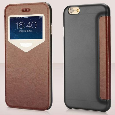 Гаджет   XUNDD Practical PU and PC Material Cover Case for iPhone 6  -  4.7 inches iPhone Cases/Covers