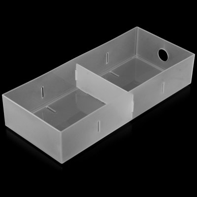 Фотография 4 Lattice Storage Box Container Stackable Drawer Cabinet for Home