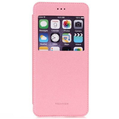ФОТО ViLi View Window Design PU and PC Material Cover Case for iPhone 6  -  4.7 inches