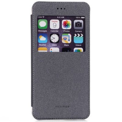 ФОТО ViLi View Window Design PU and PC Material Cover Case for iPhone 6 Plus  -  5.5 inches
