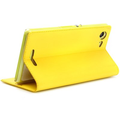 Фотография ViLi Practical PU and PC Material Cover Case for Sony Xperia E3