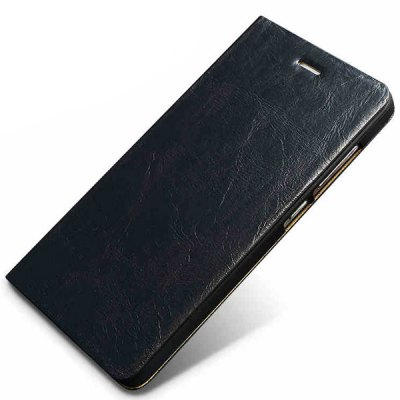 Фотография Moby Stand Design Genuine Leather and TPU Cover Case for Xiaomi 4