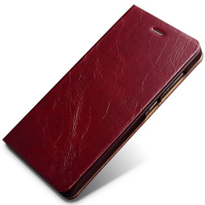 Moby Stand Design Genuine Leather and TPU Cover Case for Xiaomi 4