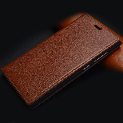Фотография Moby Practical Genuine Leather and PC Cover Case for Xiaomi 3