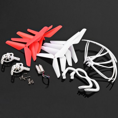 ФОТО KH5C - 002 Complete Spare Blades Screws Landing Skid Kit RC Quadcopter Accessories Parts Set