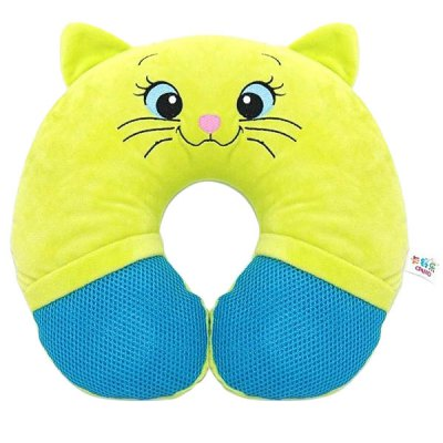 Гаджет   Eineng Smooth U - shape Music Pillow with Cat Patterns Travel Pillow iPhone Speakers