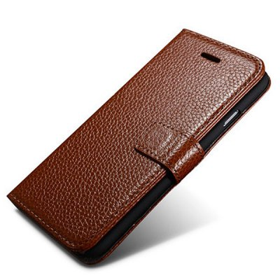 Фотография Moby Anti - dust TPU + Leather Stand Function Card Slots Full Body Case for iPhone 6  -  4.7 inch