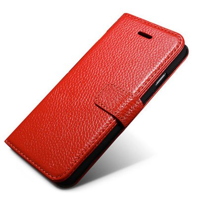 Moby Anti - dust TPU + Leather Stand Function Card Slots Full Body Case for iPhone 6  -  4.7 inch