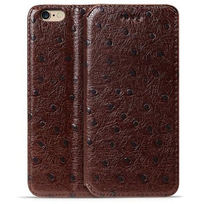 Moby Anti - dust TPU + Leather Dot Style Full Body Case for iPhone 6  -  4.7 inch