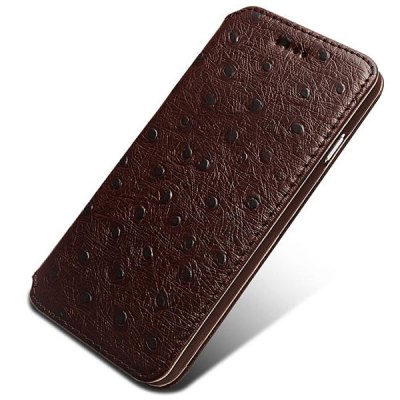 Фотография Moby Anti - dust TPU + Leather Dot Style Full Body Case for iPhone 6  -  4.7 inch