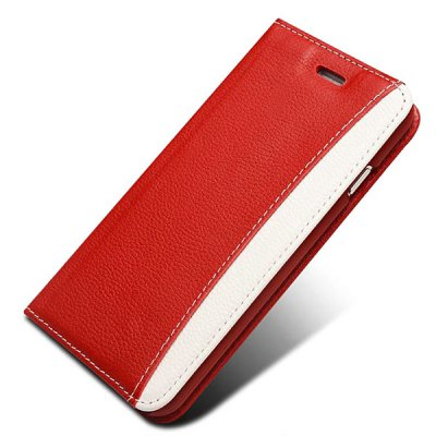 Фотография Moby Anti - dust TPU + Leather Lichee Texture Full Body Case for iPhone 6  -  4.7 inch